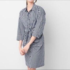 GAP x Sarah Jessica Parker   Gingham Shirt Dress